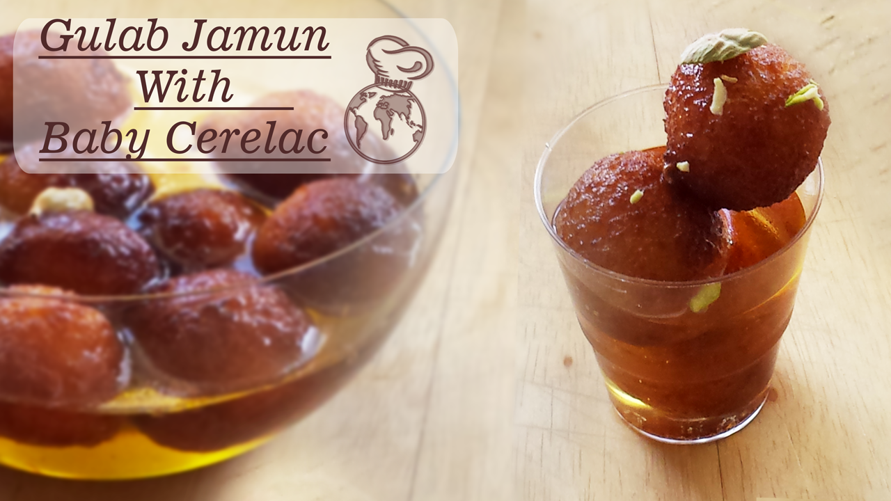 Instant-Gulab-Jamun-with-Baby-Cerelac