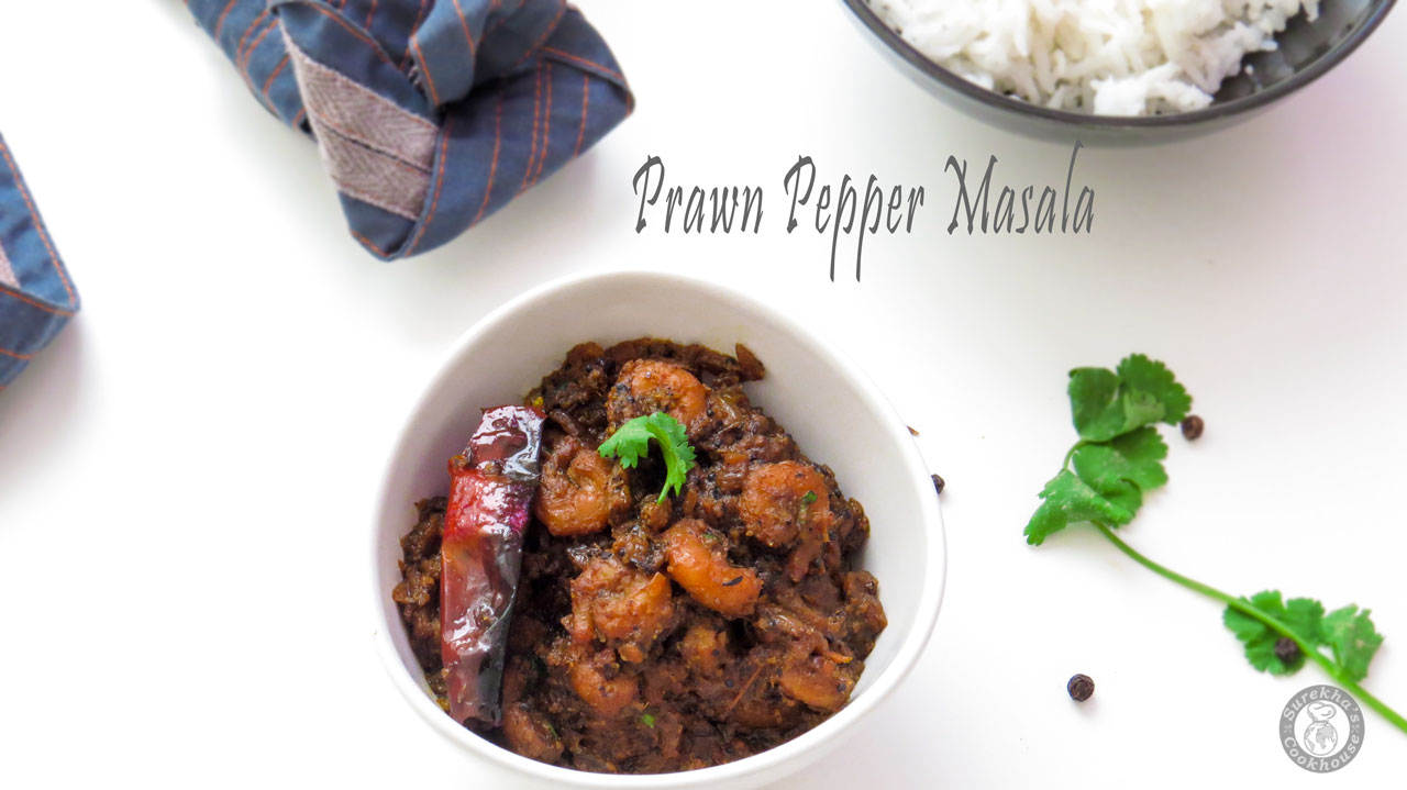 Prawn-(or)-Shrimp-Pepper-Masala