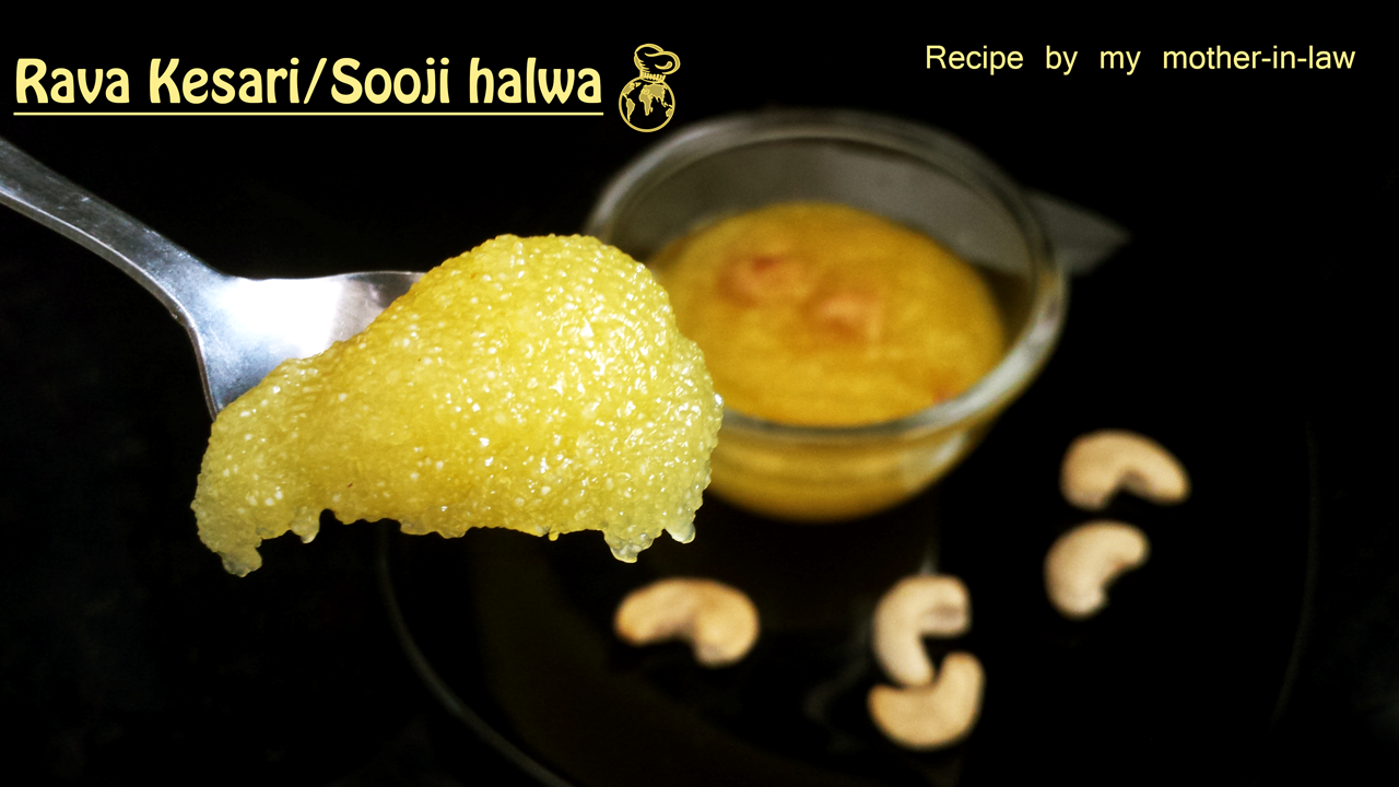 Rava-Kesari(or)Sooji-Halwa-for-Two