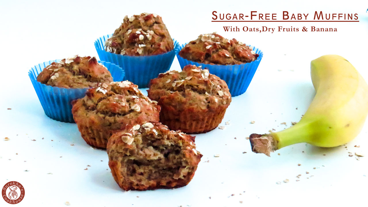 Sugar-Free-Baby-Muffins-(or)-BabyLed-Weaning-Muffins